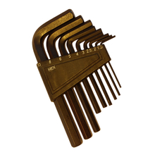 9Pcs Short Arm Hex Key Set