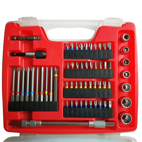 78Pcs Drills Bits and Sockets Set