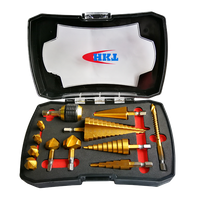 12Pcs Countersink Step Drills Set